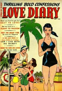 Cover Thumbnail for Love Diary (Orbit-Wanted, 1949 series) #36