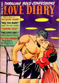 Cover Thumbnail for Love Diary (Orbit-Wanted, 1949 series) #37