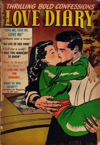 Cover Thumbnail for Love Diary (Orbit-Wanted, 1949 series) #38