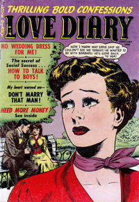 Cover Thumbnail for Love Diary (Orbit-Wanted, 1949 series) #40