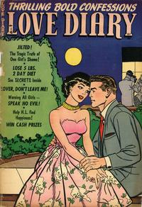 Cover Thumbnail for Love Diary (Orbit-Wanted, 1949 series) #45