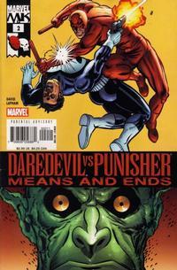 Cover Thumbnail for Daredevil vs. Punisher (Marvel, 2005 series) #2