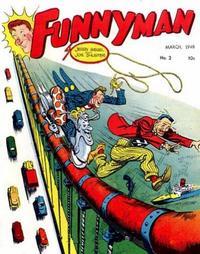 Cover Thumbnail for Funnyman (Magazine Enterprises, 1948 series) #2