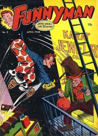 Cover Thumbnail for Funnyman (Magazine Enterprises, 1948 series) #3
