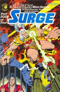 Cover for Surge (Eclipse, 1984 series) #4