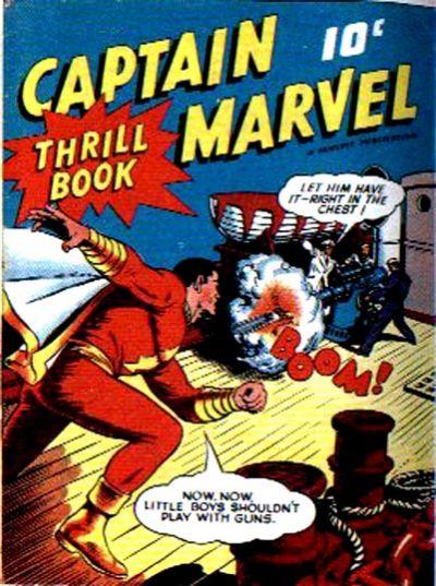 Cover for Captain Marvel Thrill Book (Fawcett, 1941 series) #1
