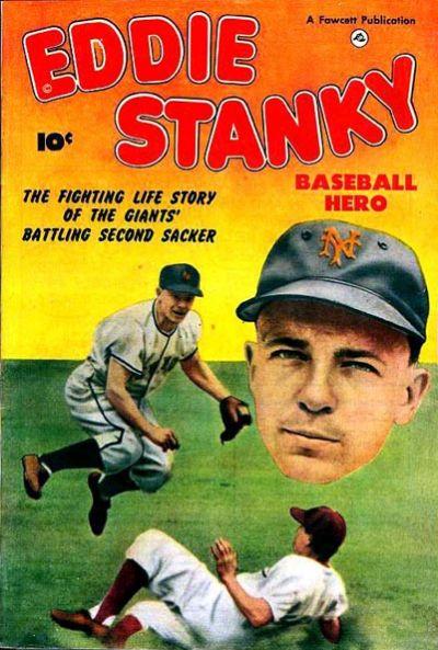 Cover for Eddie Stanky (Fawcett, 1951 series)