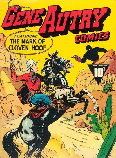 Cover for Gene Autry Comics (Fawcett, 1941 series) #1