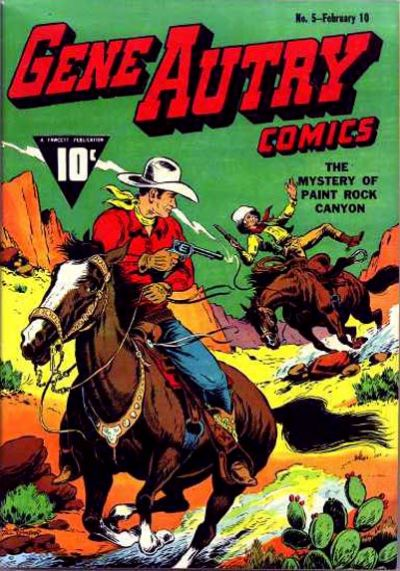 Cover for Gene Autry Comics (Fawcett, 1941 series) #5