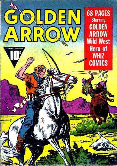 Cover for Golden Arrow (Fawcett, 1942 series) #[1]