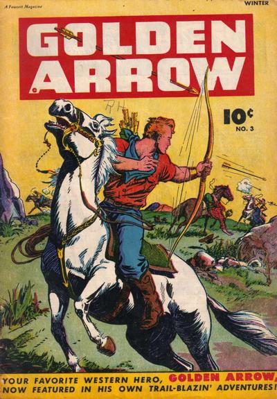 Cover for Golden Arrow (Fawcett, 1942 series) #3