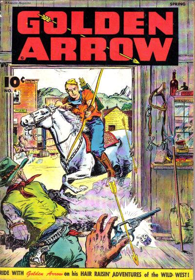 Cover for Golden Arrow (Fawcett, 1942 series) #4