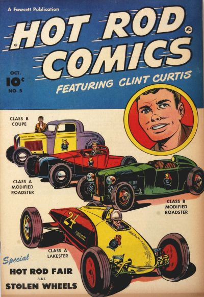 Cover for Hot Rod Comics (Fawcett, 1951 series) #5