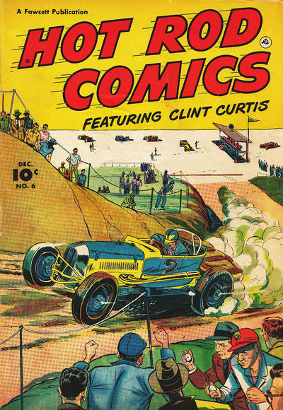 Cover for Hot Rod Comics (Fawcett, 1951 series) #6