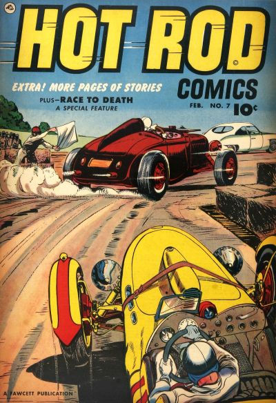 Cover for Hot Rod Comics (Fawcett, 1951 series) #7