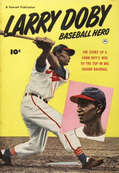 Cover for Larry Doby, Baseball Hero (Fawcett, 1950 series)