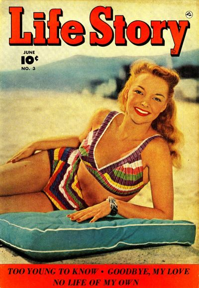 Cover for Life Story (Fawcett, 1949 series) #3