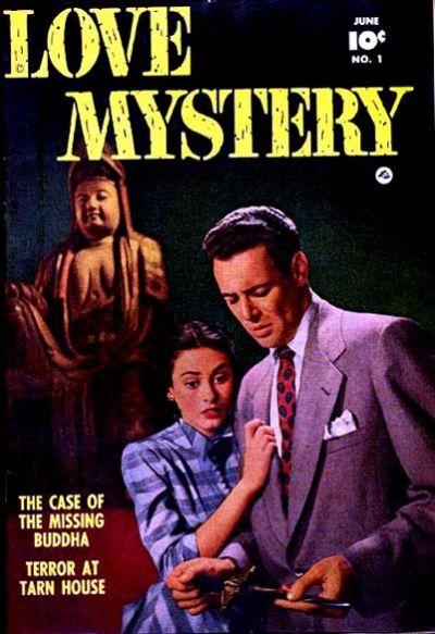 Cover for Love Mystery (Fawcett, 1950 series) #1