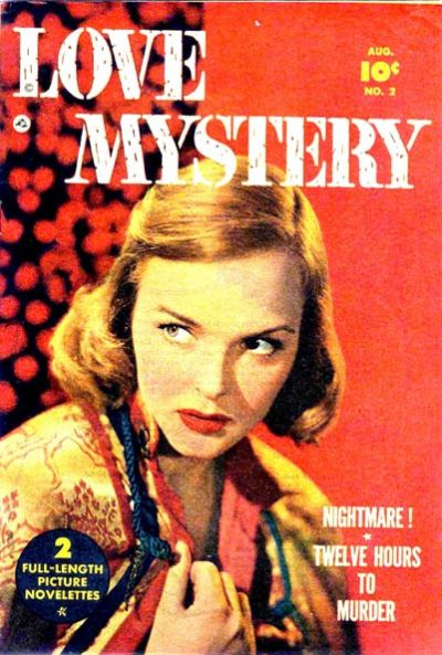 Cover for Love Mystery (Fawcett, 1950 series) #2