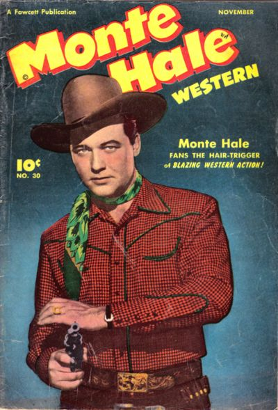 Cover for Monte Hale Western (Fawcett, 1948 series) #30