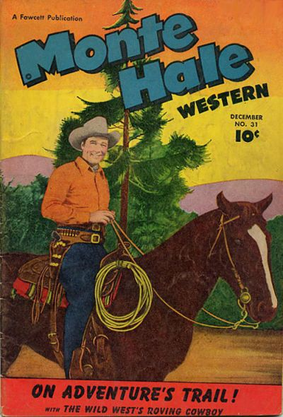 Cover for Monte Hale Western (Fawcett, 1948 series) #31
