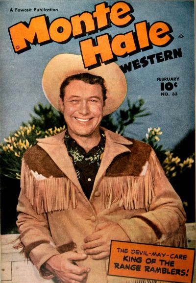 Cover for Monte Hale Western (Fawcett, 1948 series) #33