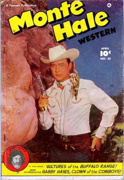 Cover for Monte Hale Western (Fawcett, 1948 series) #35