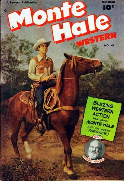 Cover for Monte Hale Western (Fawcett, 1948 series) #41