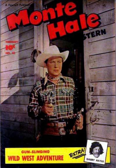 Cover for Monte Hale Western (Fawcett, 1948 series) #45