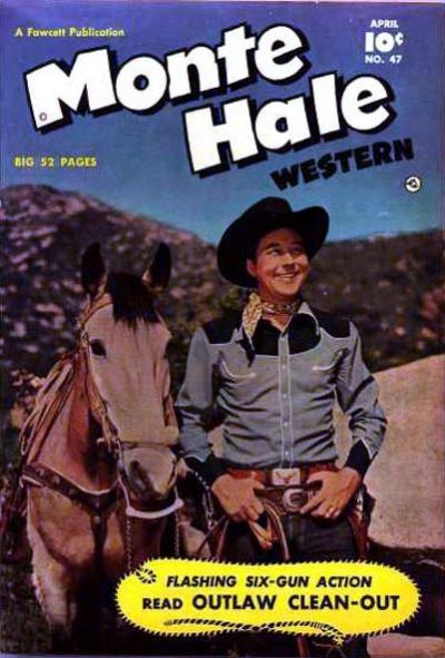 Cover for Monte Hale Western (Fawcett, 1948 series) #47