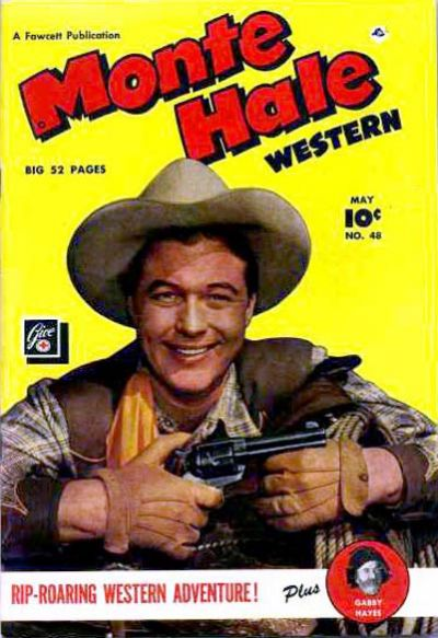 Cover for Monte Hale Western (Fawcett, 1948 series) #48