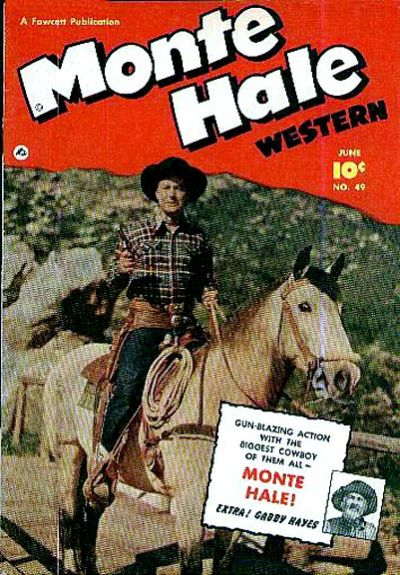 Cover for Monte Hale Western (Fawcett, 1948 series) #49