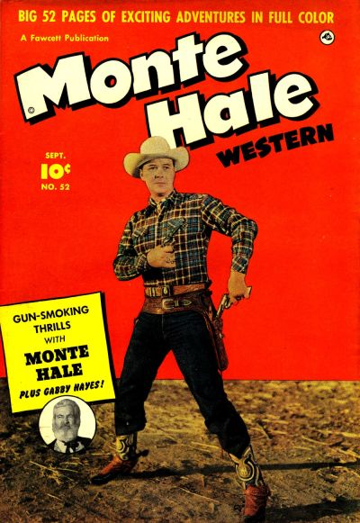 Cover for Monte Hale Western (Fawcett, 1948 series) #52