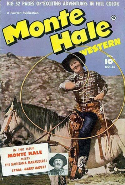 Cover for Monte Hale Western (Fawcett, 1948 series) #55