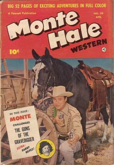 Cover for Monte Hale Western (Fawcett, 1948 series) #59