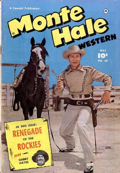 Cover for Monte Hale Western (Fawcett, 1948 series) #60