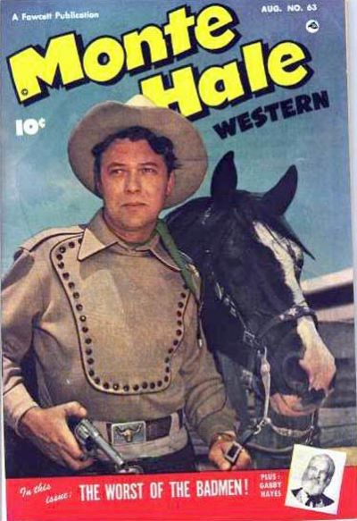Cover for Monte Hale Western (Fawcett, 1948 series) #63