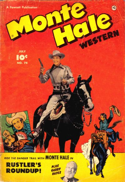 Cover for Monte Hale Western (Fawcett, 1948 series) #74