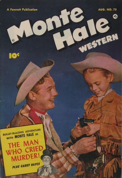 Cover for Monte Hale Western (Fawcett, 1948 series) #75