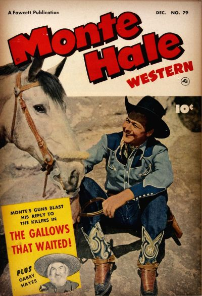 Cover for Monte Hale Western (Fawcett, 1948 series) #79