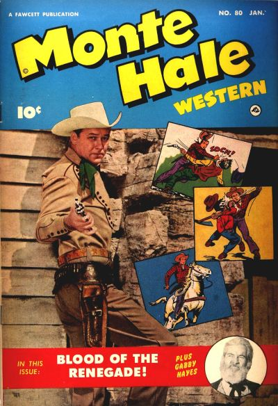 Cover for Monte Hale Western (Fawcett, 1948 series) #80