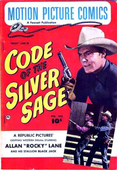 Cover for Motion Picture Comics (Fawcett, 1950 series) #102