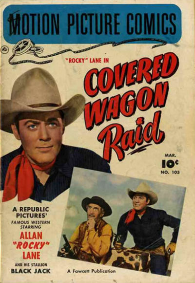 Cover for Motion Picture Comics (Fawcett, 1950 series) #103