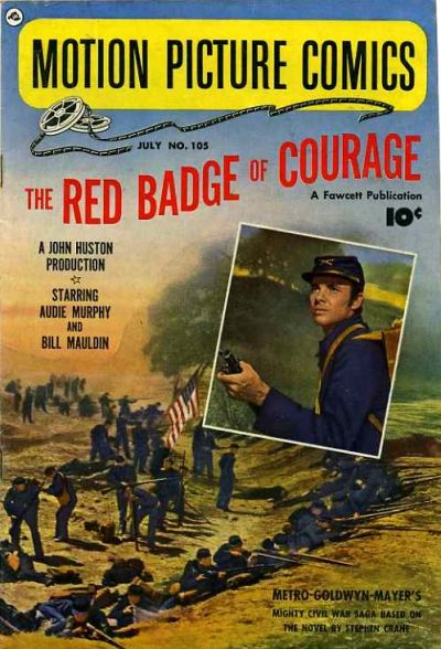 Cover for Motion Picture Comics (Fawcett, 1950 series) #105