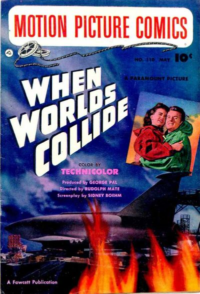 Cover for Motion Picture Comics (Fawcett, 1950 series) #110
