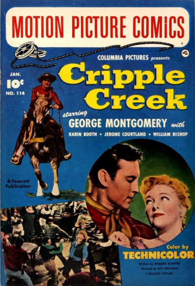 Cover for Motion Picture Comics (Fawcett, 1950 series) #114