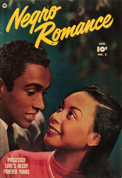Cover for Negro Romance (Fawcett, 1950 series) #2