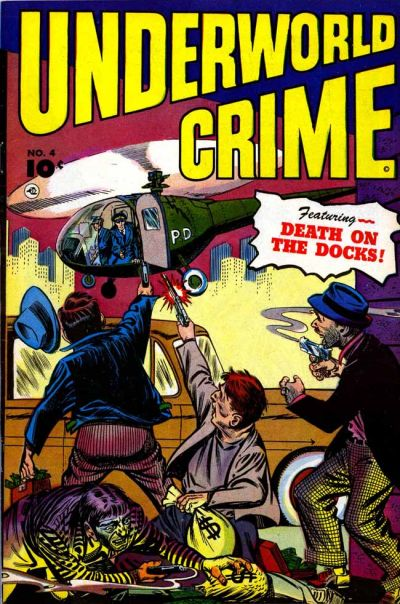 Cover for Underworld Crime (Fawcett, 1952 series) #4