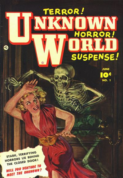 Cover for Unknown World (Fawcett, 1952 series) #1
