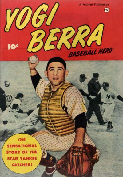 Cover for Yogi Berra (Fawcett, 1951 series)